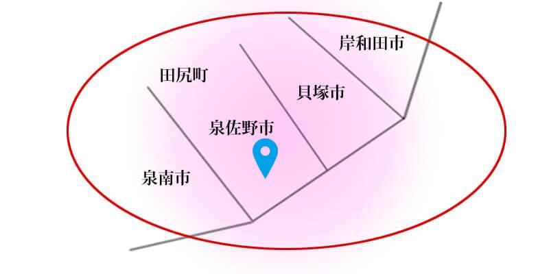 訪問治療:地図
